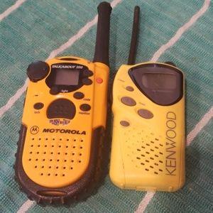 Handheld Radios ~ both work great!